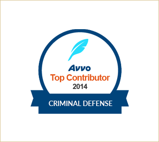 Avvo Top Contributor Criminal Defense 2014